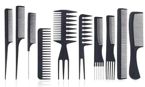 شانه تقسیم ابزار کوتاهی مو