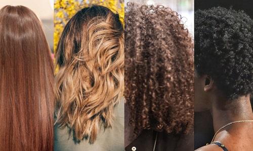 کوتاهی مو - انواع مو