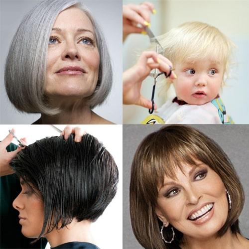 کوتاهی مو در سنین مختلف