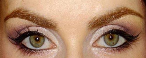 چشم های نزدیک بهم