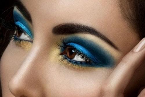 نمونه سایه چشم آبی