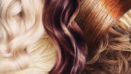 رنگ مو ترکیبی انتخاب