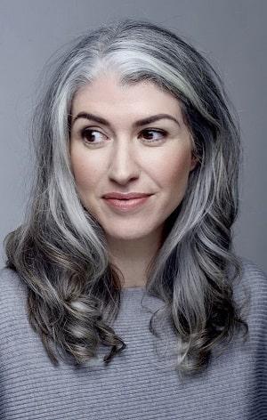 ترکیب رنگ مو برای موی سفید