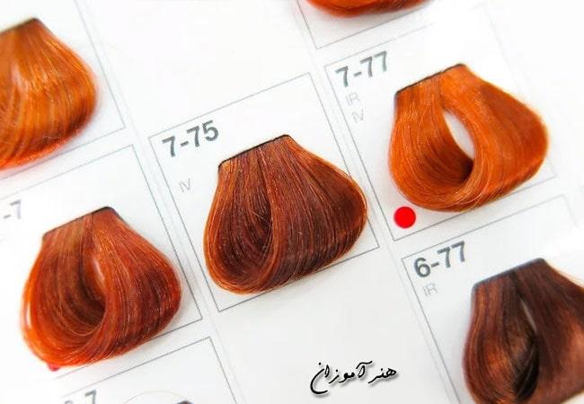 رنگ مو با توجه به رنگ پوست