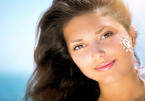 آرایش کامل ضد آفتاب