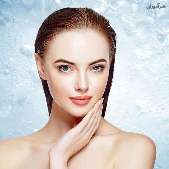 پوست صاف در پاکسازی پوست