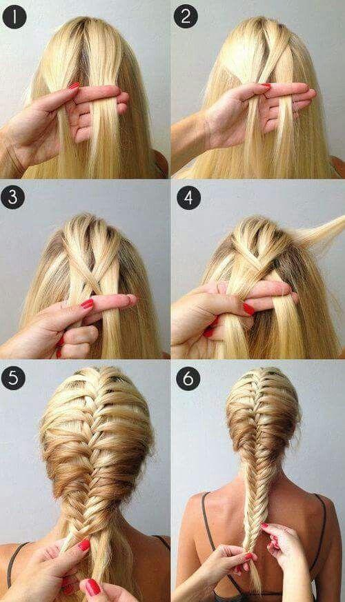 آموزش بافت مو ساده