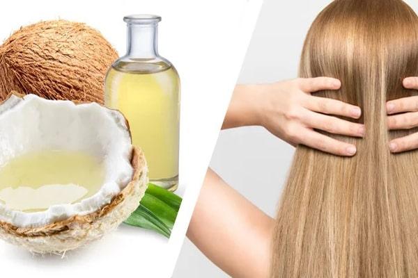 صاف کردن مو با روغن نارگیل و ویتامینe