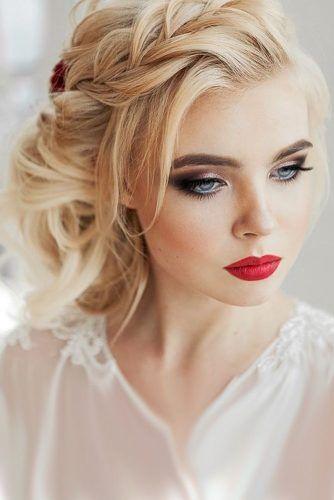 آرایش عروس با موی بلوند