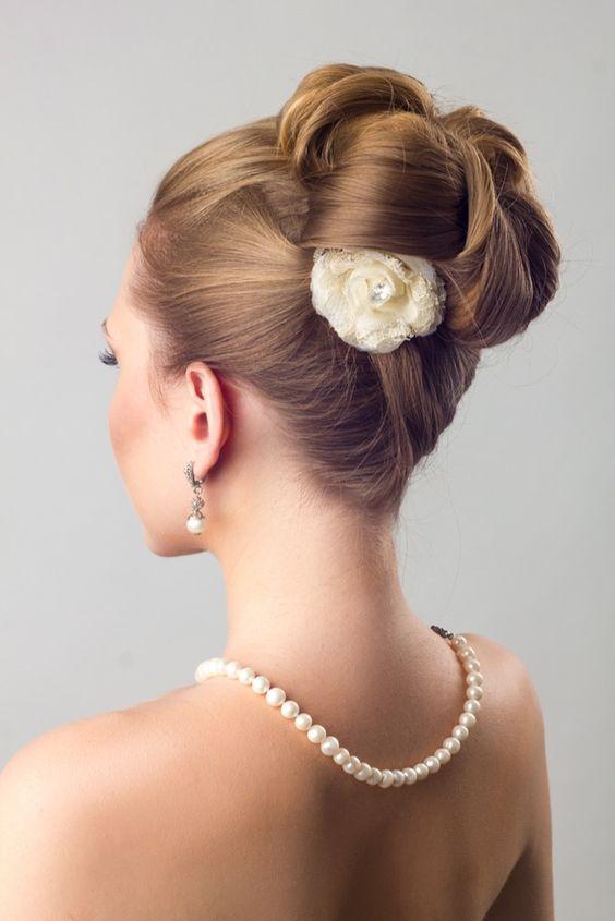 نمونه شینیون مو عروس
