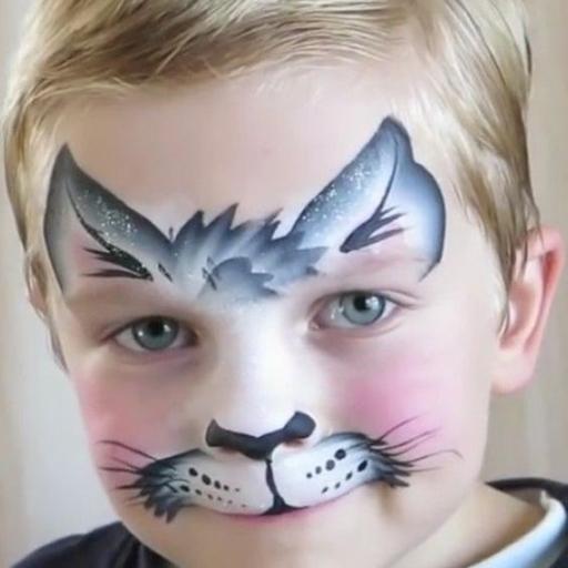 مدل گربه گریم کودک