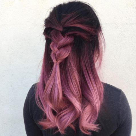 نمونه رنگ مو