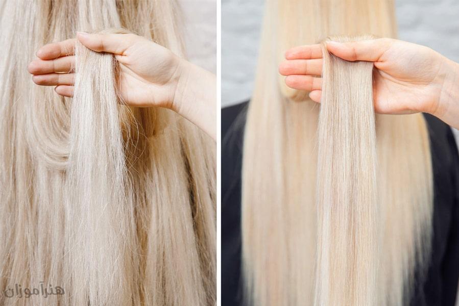 کراتینه کردن مو