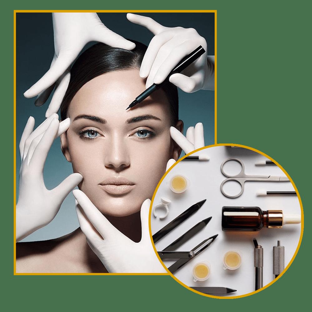دوره آموزش آرایشگری آرایش دائم