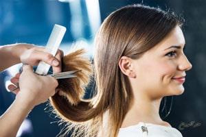 کوتاهی مو توسط آرایشگر