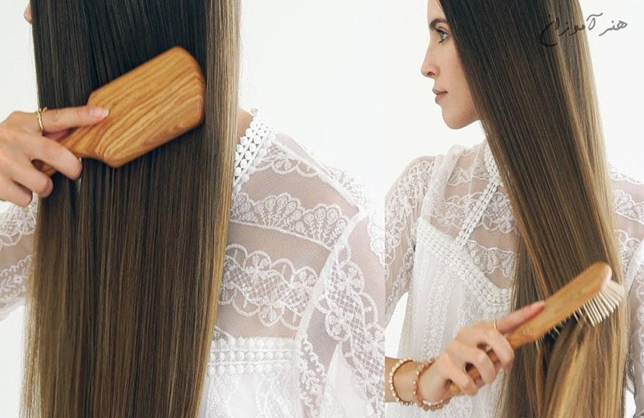تاثیر شانه چوبی بر رشد مو